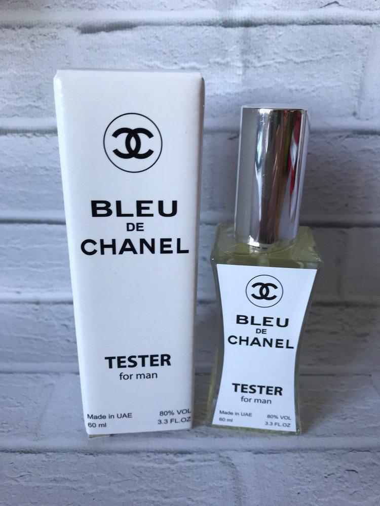 Мужские духи тестер в стиле Chanel Bleu de Chanel - 60 мл