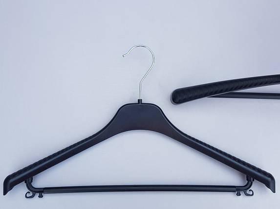Плечики V-Tp42 черного цвета, длина 42 см, фото 2