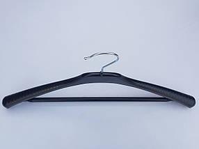 Плечики V-Tp42 черного цвета, длина 42 см, фото 3