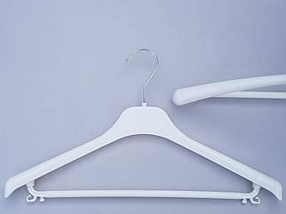 Плічка V-Tp42 білого кольору, довжина 42 см