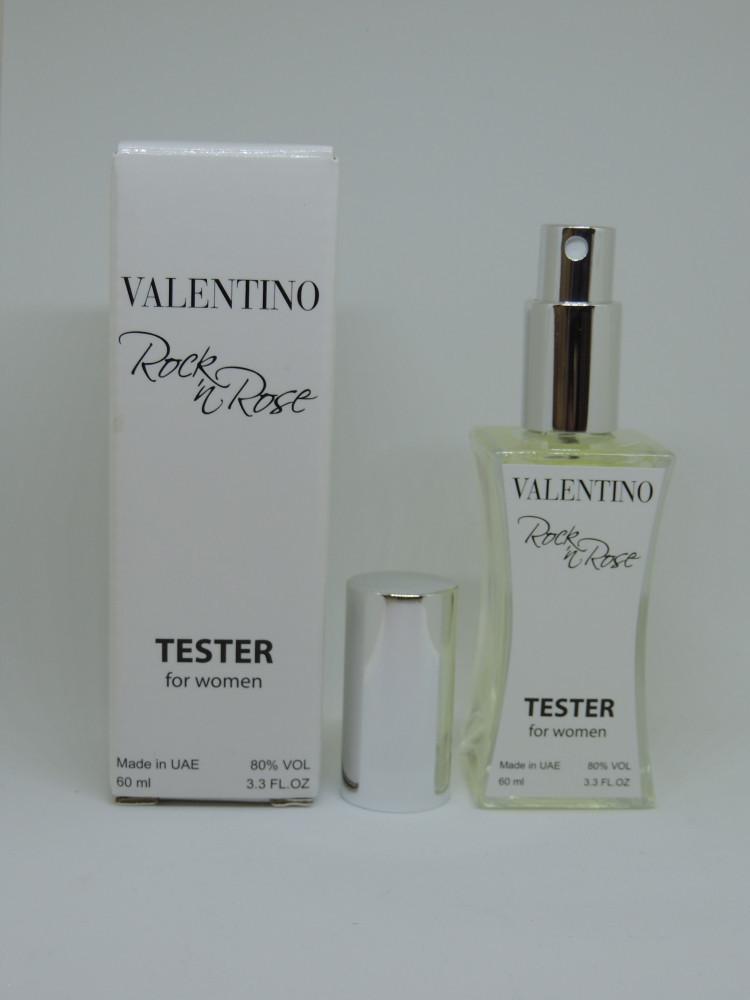 Женские духи тестер в стиле Valentino Rockn Rose Couture - 60 мл