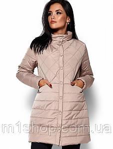 Женская демисезонная куртка-пальто (Пэрис kr)
