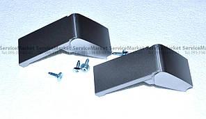 Крепления верхней ручки двери для холодильника усиленные серые Liebherr 9590178  Оригинал