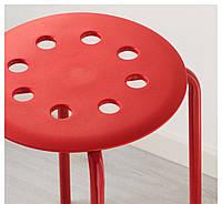Табурет, красный Икеа Мариус, 002.461.96 Ikea