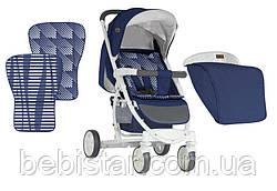 Прогулочная коляска синяя Lorelli S300 BLUE