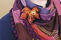Набор для вышивания бисером украшения Капелька солнца