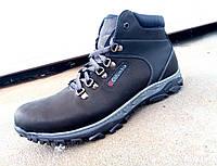 Мужские кожаные зимние ботинки большие размеры Columbia 46-50 р-р, фото 1