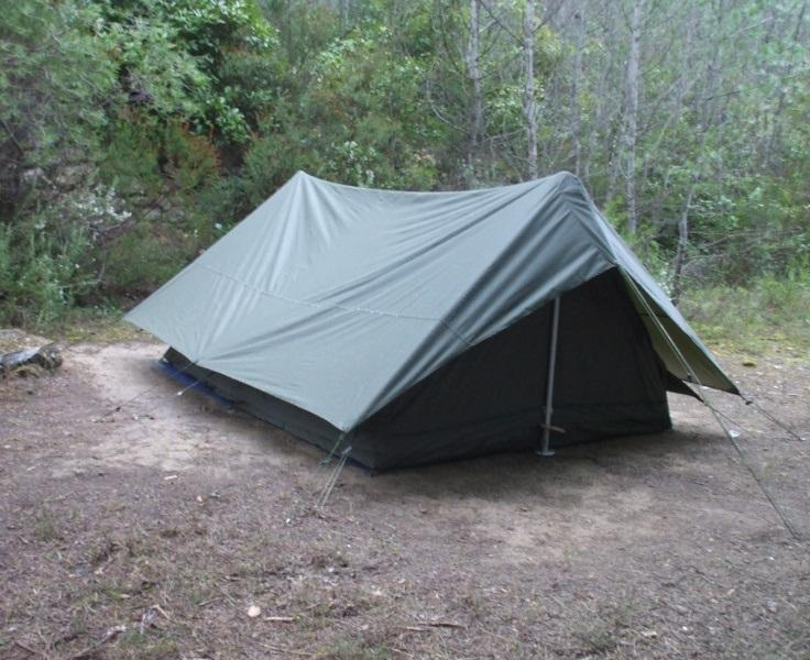 Палатка армии Франции Olive Оригинал Новая