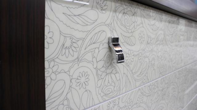 Шкаф 6-дверный Оливье (мебельные ручки)