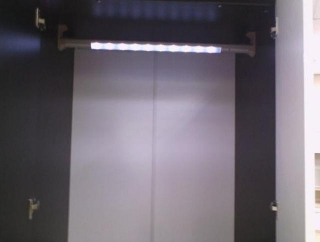 Шкаф 6-дверный Оливье (подсветка)