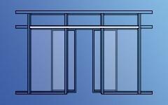 Линейные автоматические двери