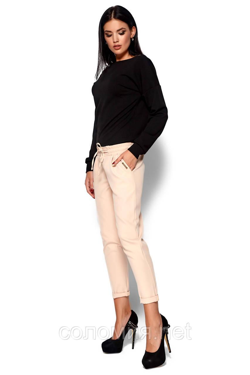 Стильные осенние брюки-дудочки  с карманами 42-48р