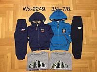 Трикотажный костюм 3 в 1 для мальчика оптом, F&D, 3/4-7/8 лет,  № WX-2249, фото 1
