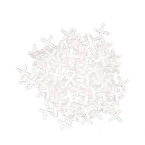 Набор дистанционных крестиков для плитки 2.5мм (150шт) INTERTOOL HT-0352, фото 2