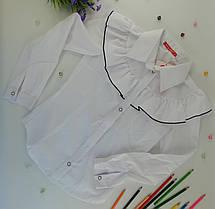 Школьная форма для девочек Рубашка №6 Белый Хлопок Sofia Shelest  152