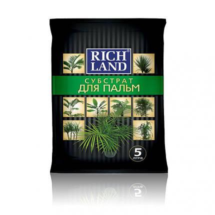 """Субстрат """"Rich Land"""" для пальм, 5 л - Готовые субстраты, фото 2"""