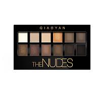 Тени для век Maybelline The Nudes Palette