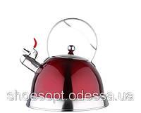 Чайник со свистком Milano ручка фиксированная 3л