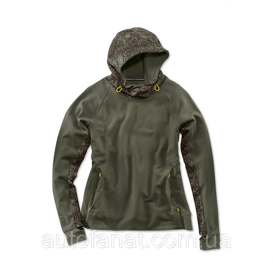 Оригинальная женская толстовка BMW Active Sweatshirt, Ladies, Olive (80142445974) S