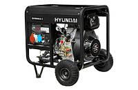 Дизельный генератор HYUNDAI DHY8000LE-3 5.5-6.0 кВт