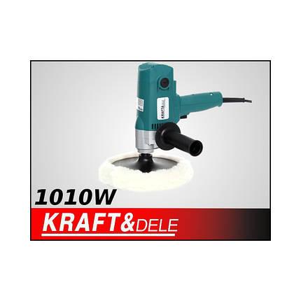 Автомобільний полірувальник 1010W KD1515, фото 2