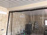 Влагостойкая штора для автомойки из ПВХ ткани (Германия), фото 3