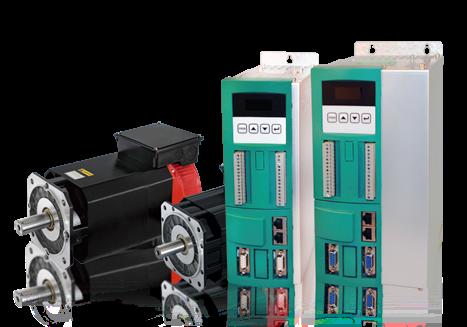 Комплектный сервопривод NZ8400D-11-1500-200H 11,0 кВт 1500 об/мин 70 Нм фланец 200 мм