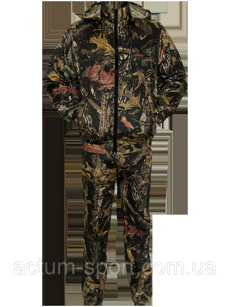 Костюм мужской для охоты и рыбалки Дубок камуфляж 48