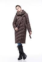 Пальто зимнее стеганое  большие размеры 48-60, фото 3