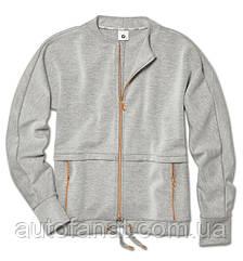 Оригинальная женская толстовка BMW Sweatjacket, Ladies, Grey Blend (80142454569)