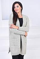 Женский кардиган с карманами пр-во Турции мод.4134, фото 1