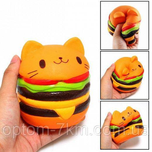 Сквиши гамбургер китти L