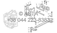 Тяговая и опорная рама на YTO X1104