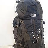 Большой туристический рюкзак 85 литров The North face синий, фото 8