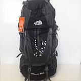 Большой туристический рюкзак 85 литров The North face синий, фото 2