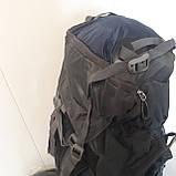 Большой туристический рюкзак 85 литров The North face синий, фото 5