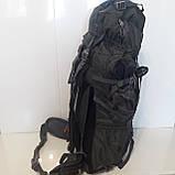 Большой туристический рюкзак 85 литров The North face синий, фото 7