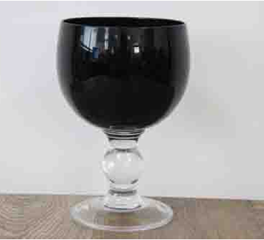 Набор из 3-х подсвечников бокалов Артемон черный, 750 мл