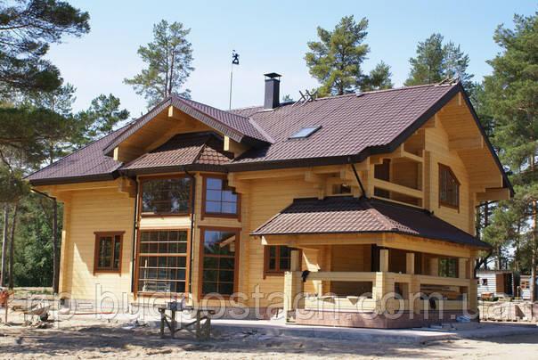 Будинок з клеєного бруса