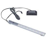 Светильник LED профиль мебельный OMEGA MASTER 200мм с выключателем алюминий теплый белый