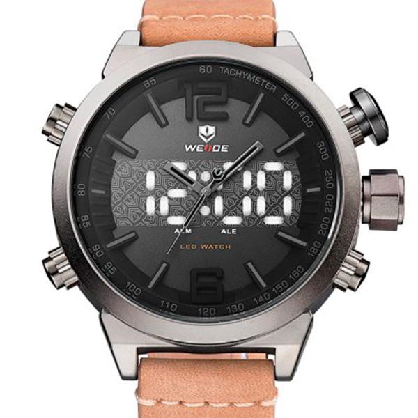 Мужские часы Weide 6101 Brown