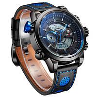 Мужские часы Weide 1295 Dark blue, фото 1