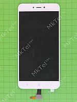 Дисплей Xiaomi Redmi Note 5A с сенсором, белый self-welded