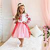 Дитяча сукня вишиванка для дівчинки Птиці, фото 6