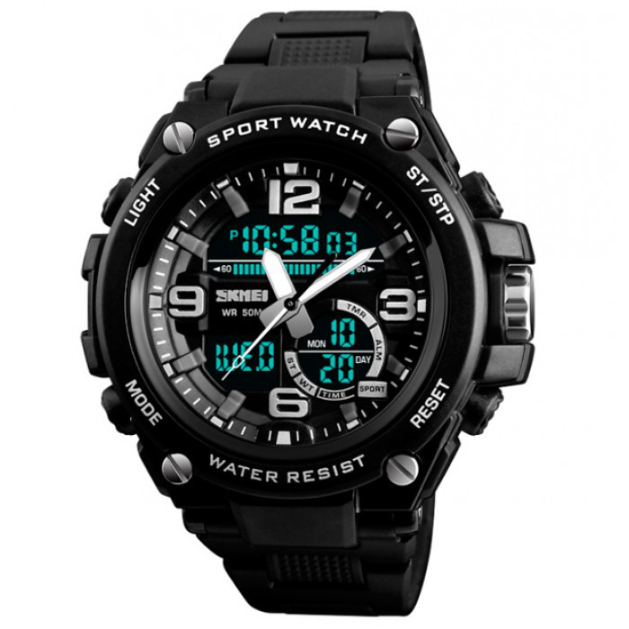 Мужские часы Skmei 1340 Black