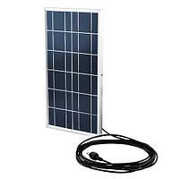 Наружный прожектор с отдельной солнечной батареей