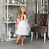Дитяча сукня вишиванка для дівчинки Птиці, фото 5