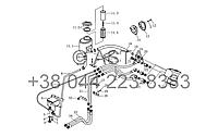 Гидравлический механизм рулевого управления на YTO X1104