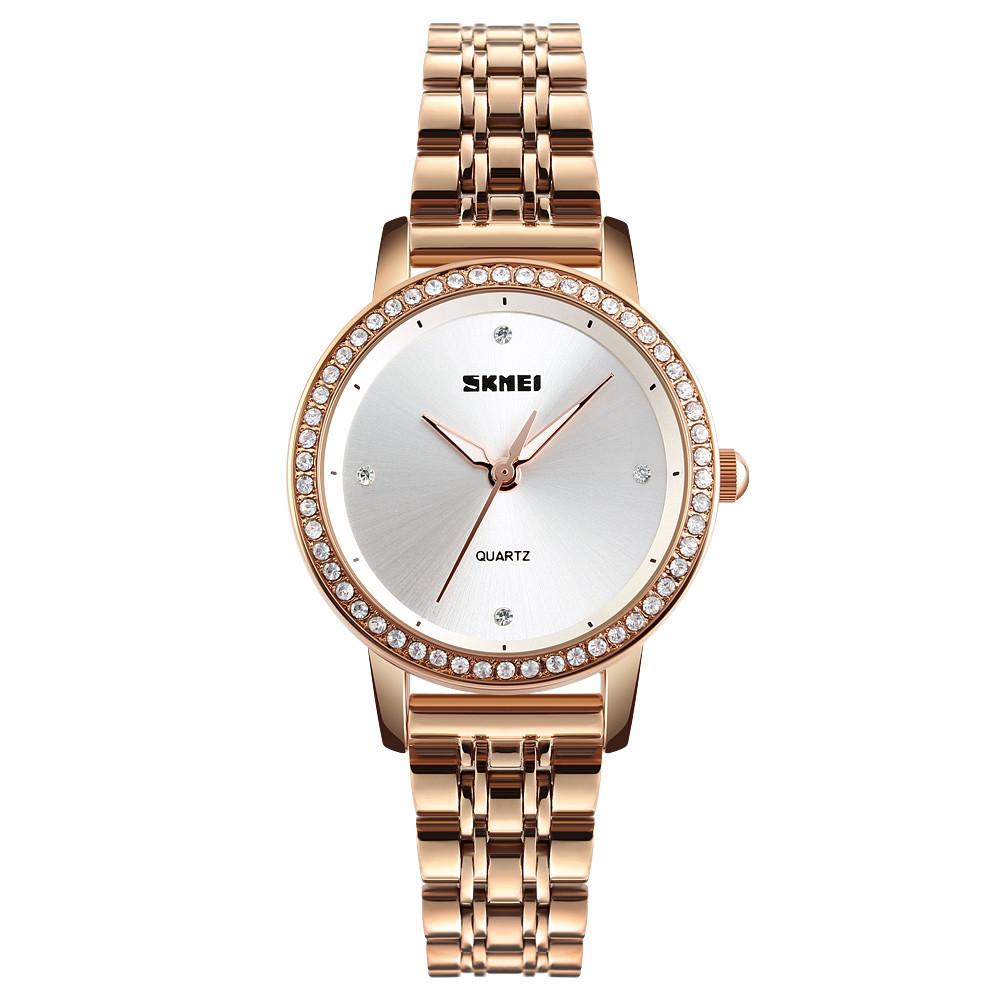 Женские часы Skmei 1456 Golden