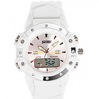 Мужские часы Skmei 1221 Белые